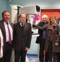 la nuova apparecchiatura donata all'Ulss dalla Corri in Rosa