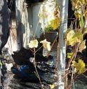 Maser, rifiuti a fuoco nel sottoscala