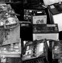 TRAFFICAVANO BATTERIE ESAUSTE: DENUNCIATI DUE ROMENI