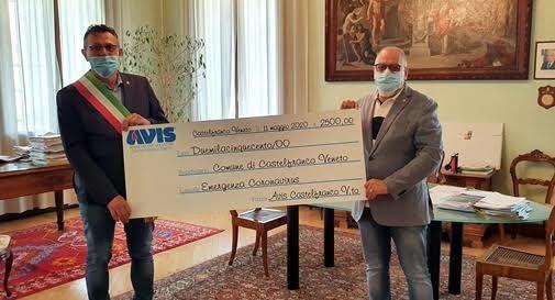 Avis solidale, donati 2 mila 500 euro a Castelfranco
