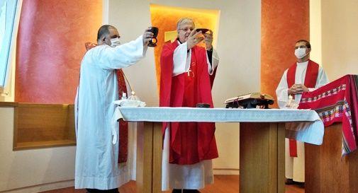 Il vescovo Tomasi ha scelto la Casa della carità per celebrare il suo primo anniversario
