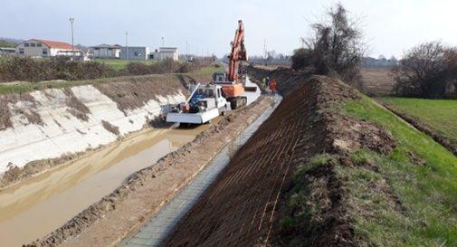 Consorzio di bonifica Piave prosciuga i suoi canali per avviare le manutenzioni stagionali