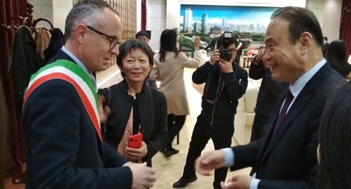 Il sindaco di Asolo in Cina