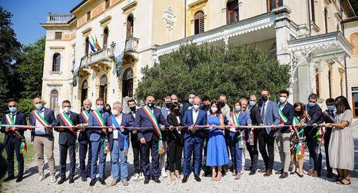 inaugurazione Unesco, Villa dei Cedri