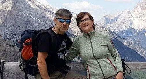 Pierluigi Donadon con la moglie Isabella Gianelloni
