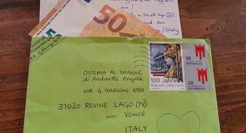 Lettera all'osteria Al Barique