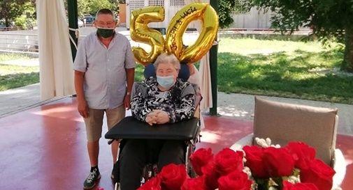 Lucia e Joseph festeggiano 50 anni di matrimonio