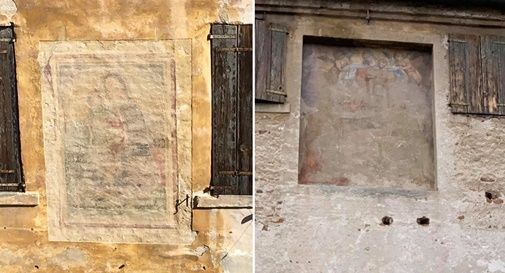 Oltre venti gli affreschi in degrado in centro a Castelfranco