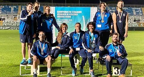 Tutti medagliati gli atleti di Oltre al Campionato italiano