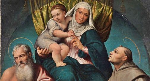 Pala di Sant'Anna, opera di Jacopo Bassano