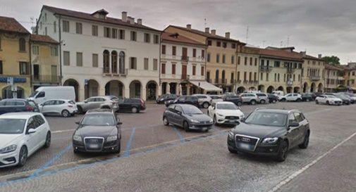 Piazza Giorgione a Castelfranco Veneto