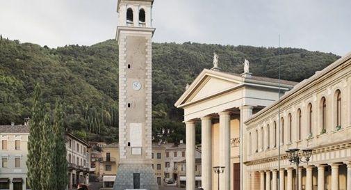 Piazza Marconi a Valdobbiadene