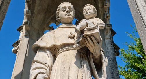 statua di Sant'Antonio a Salvatronda