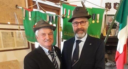 Valentino Baron e il nuovo presidente Massimo Burol