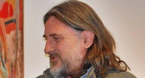 Il pittore Walter Marin