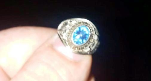 anello ritrovato