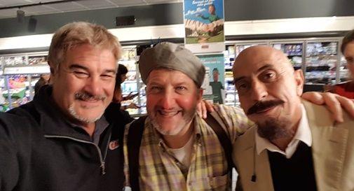 Da Montebelluna allo spot in tv, Marco Cadorin a Roma con Insegno e Ciufoli