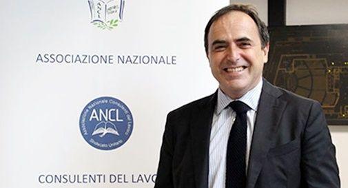 il presidente dell'ANCL (Associazione Nazionale Consulenti del Lavoro) Dario Montanaro