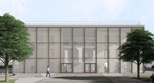 progetto nuovo teatro di Montebelluna