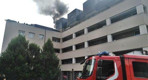 Incendio a Montebelluna