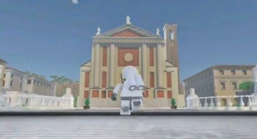 Castelfranco in versione Lego in un video di animazione che sta spopolando