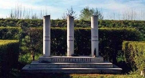 monumento di Cordignano alla memoria di Antonio Boffa, Giovanni Casoni e Temistocle Tomassi