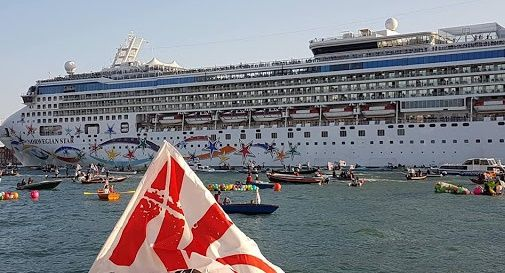 Venezia, da 1 agosto stop grandi navi