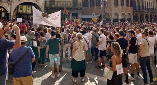 protesta Green pass Treviso