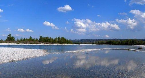 casse di espansione nelle Grave del fiume Piave a Ciano del Montello
