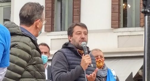 "Salvini: ""A Castelfranco non partiamo da 47 a 25, ma da 0 a 0"""