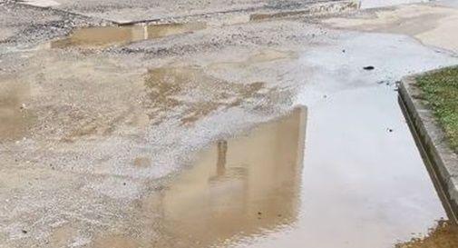 Acqua in strada da 20 giorni in via delle Risorgive