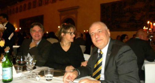 Michele Miriade, primo a destra nella foto