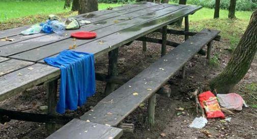 Area picnic lungo il sentiero Le Volpere
