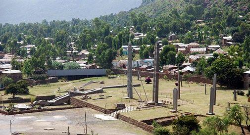 Axum, nella regione etiopica del Tigray