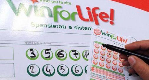 Colpo di fortuna a Codognè: vinti 4mila euro al mese e 100mila subito al Win for Life