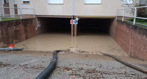 Garage sott'acqua a Cordignano