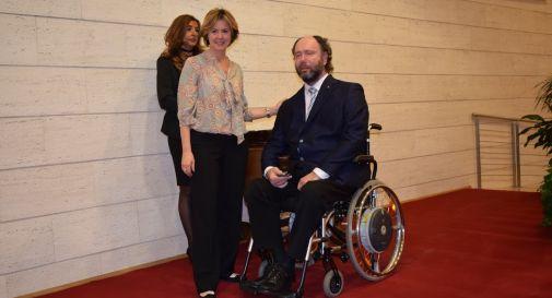 Dalla Mora premiato dal ministro Lorenzin