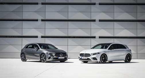 Mercedes GLB e Classe A, le compatte di nuova generazione