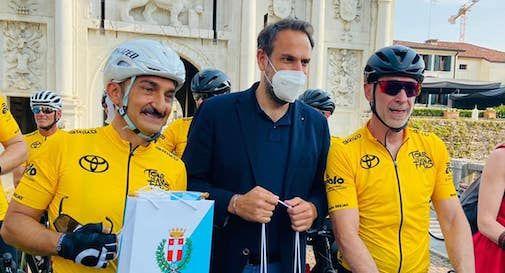 Linus, Nicola Savino e Mario Conte