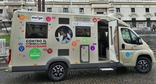 Il camper contro il cyberbullismo arriverà presto a Castelfranco