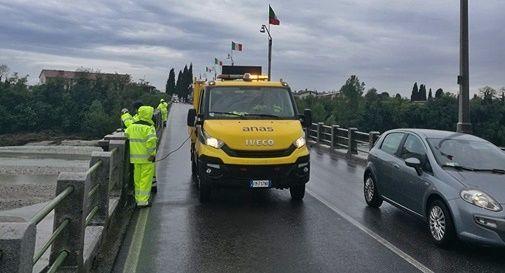 Iniziati i rilievi sulle condizioni del ponte di Vidor