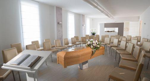 la sala del commiato