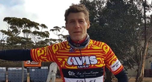 Nicola Andreose l'asolano che sta attraversando l'Australia in bicicletta
