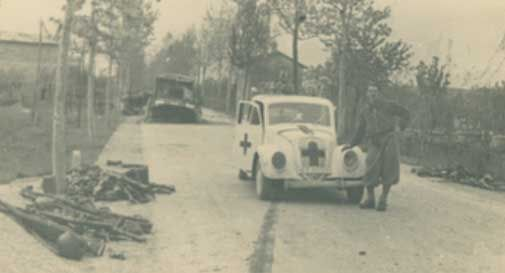 Quando i partigiani bloccarono i tedeschi sul Menarè tagliando gli alberi