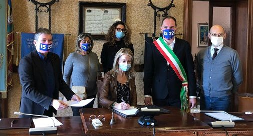 Mogliano, firmato il protocollo a sostegno delle attività produttive locali