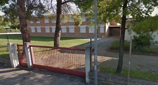 Montebelluna, futura sede delI'Istituto alberghiero Maffioli in via Biagi