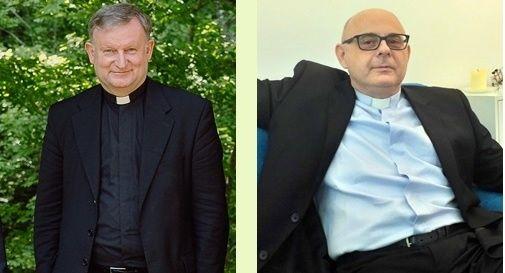 don Giuliano Brugnotto e don Donato Pavone