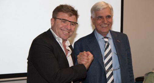Andrea Cavinato e Maurizio Piccin, coach e Presidente del Mogliano Rugby 1969