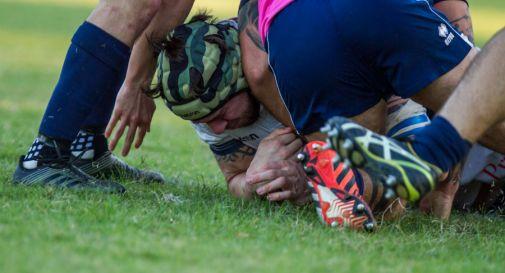 La meta di Marcos Delorenzi nel match contro la Lazio