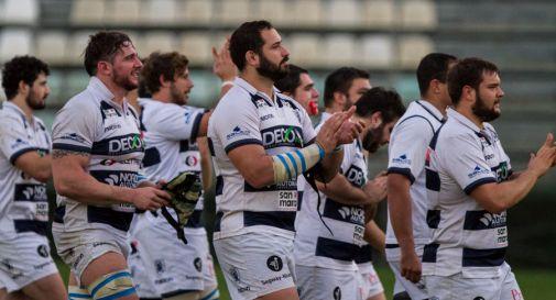 La squadra ringrazia i tifosi presenti a Roma